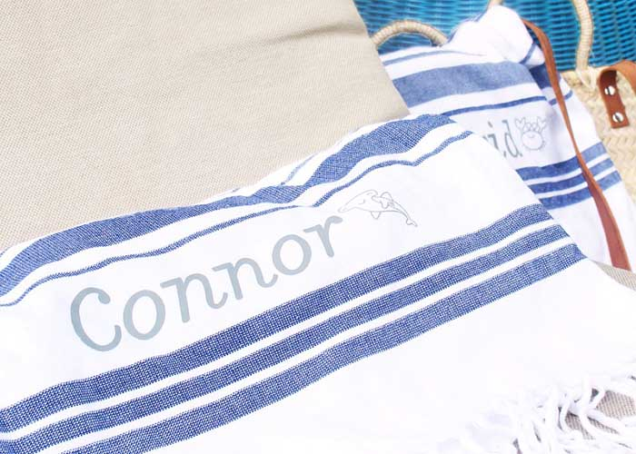 Personalized towels with Cricut