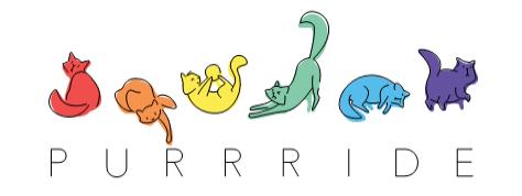 Purrride graphic from Cricut Pride image set