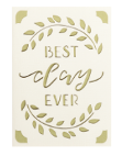 Best Day Ever Cricut insert card image
