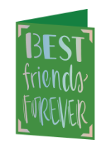 Best Friends Forever Cricut insert card imageCricut insert card image