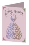 Feliz Quincenera Cricut insert card image