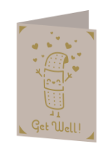 Get Well Cricut insert card image