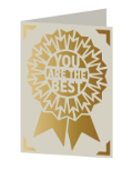 You are the Best Cricut insert card image