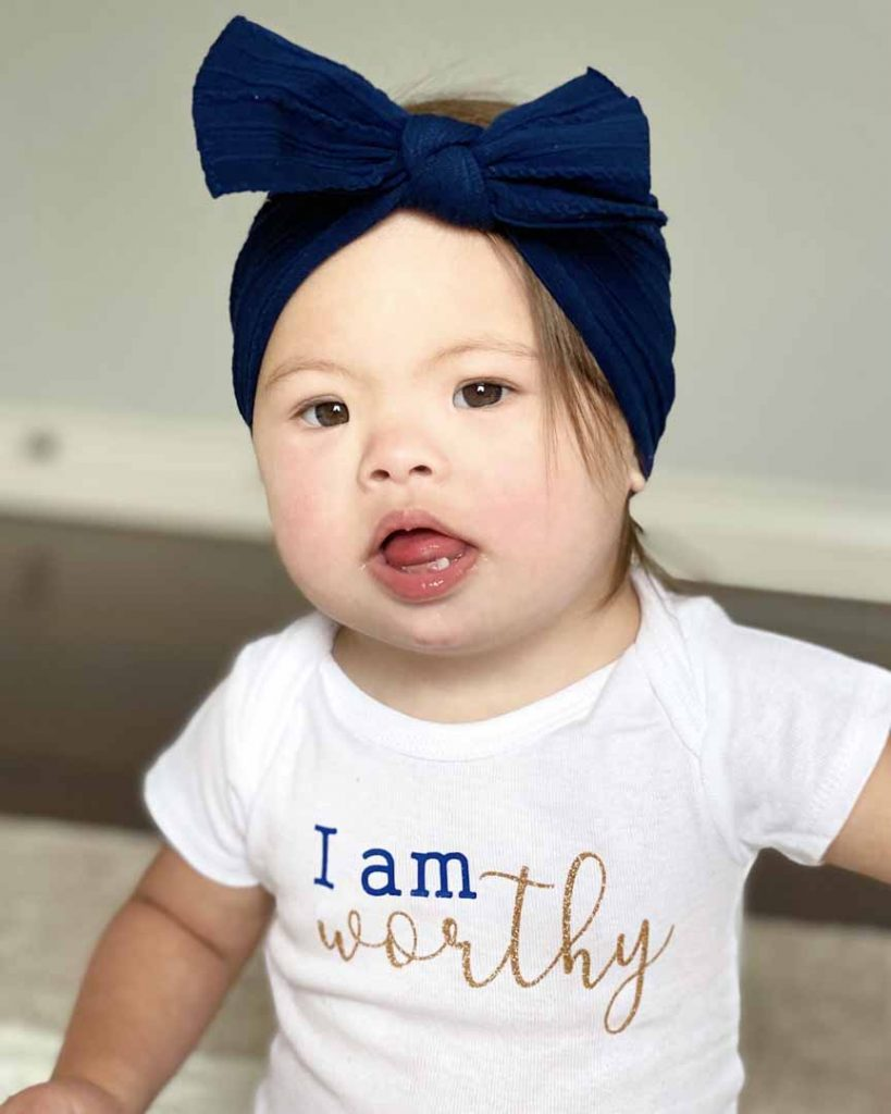 Baby Arabella - i am worthy shirt