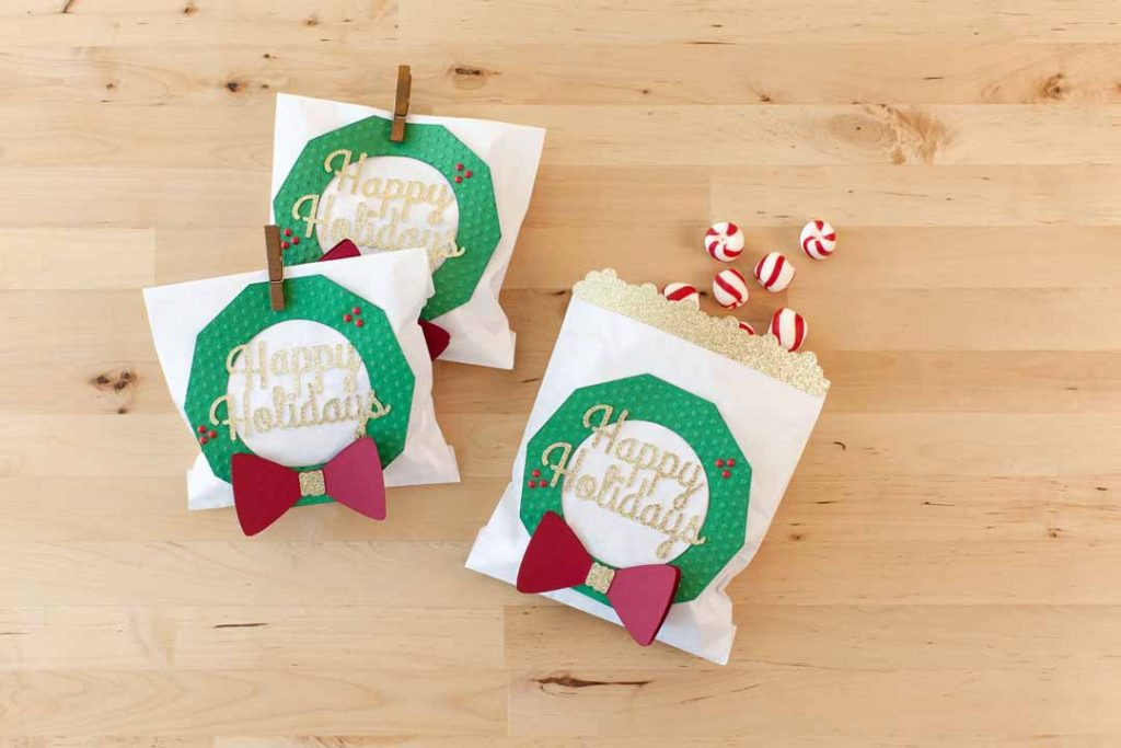 Treat Bag with Wreath