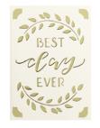 Best Day Ever Cricut insert card image