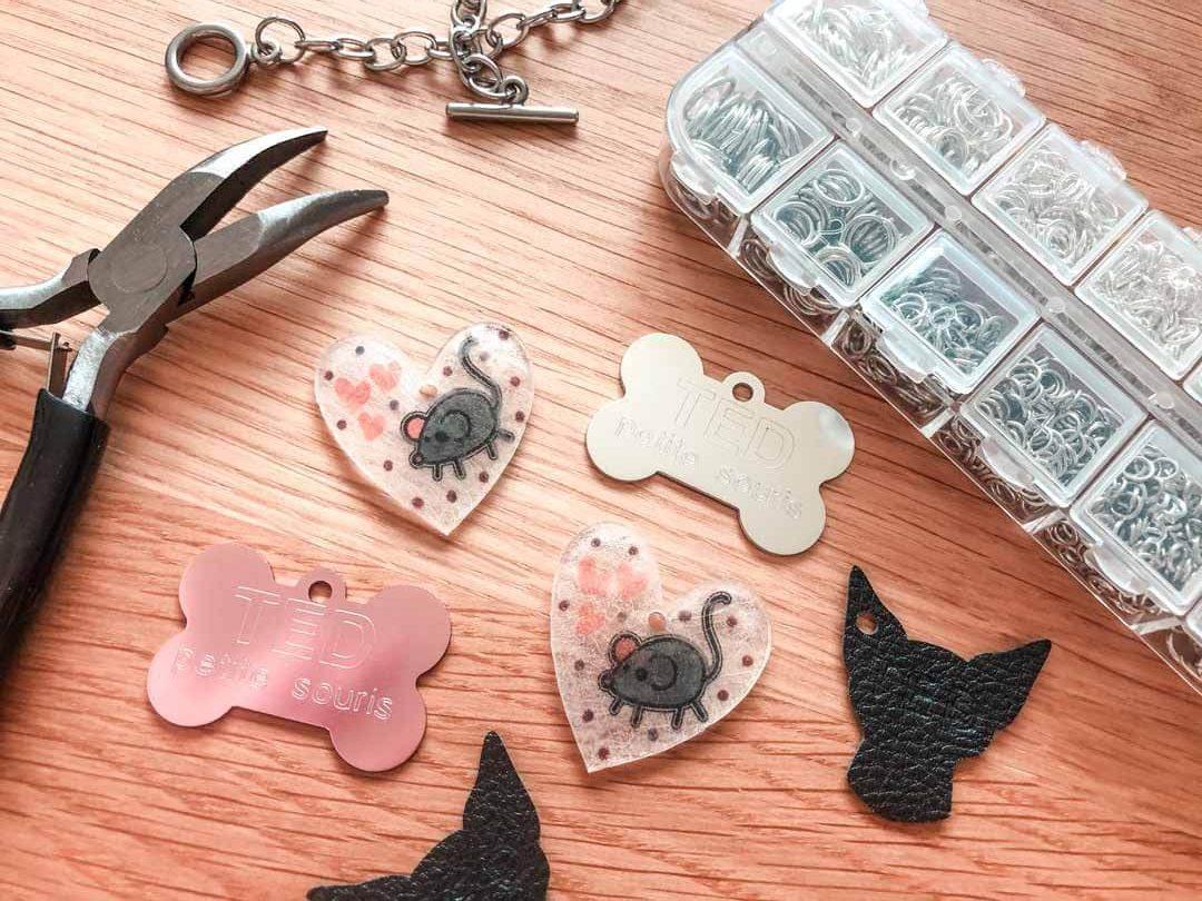 Making custom charm bracelets with Cricut Maker
