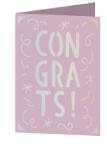 Congrats Cricut insert card image