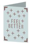 Feel Better Cricut insert card image