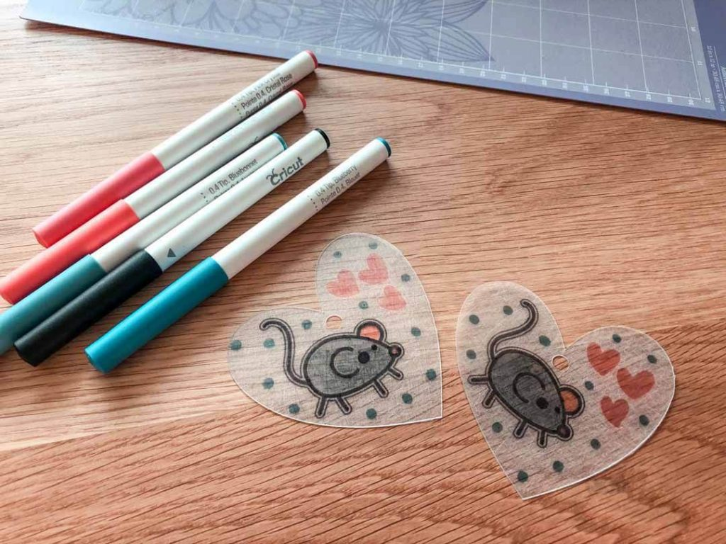 Cutting and drawing custom Shrinky Dink charms with Cricut Maker