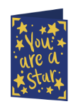 You are a Star Cricut insert card image