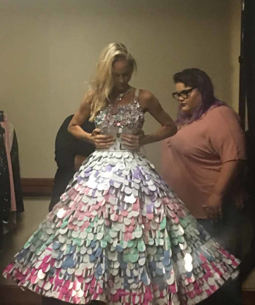 Sally Beauty Ion Hair Color Custom Dress by Ashley Nell Tipton