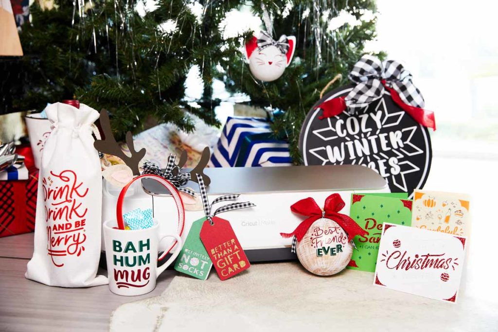 DIY Holiday Decor and Gift Ideas from Zooey Deschanel and Cricut