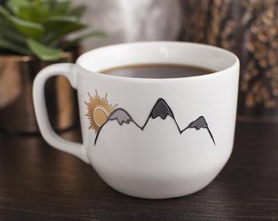Mountain Mug Cricut project