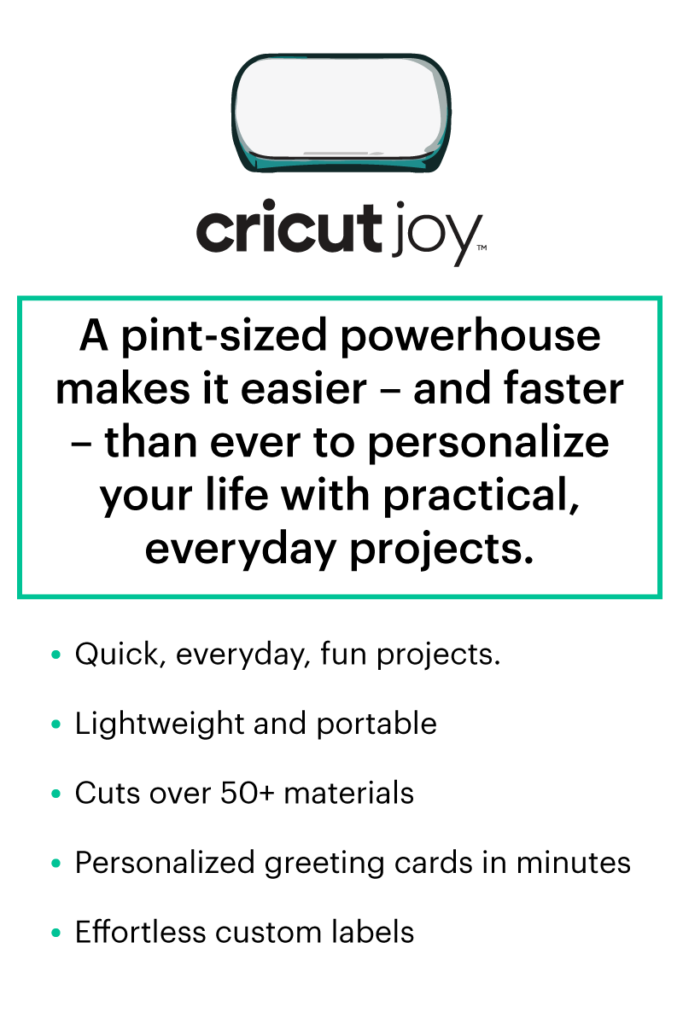 Cricut Joy features