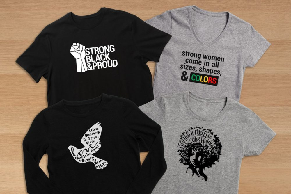Black History collection T-shirts