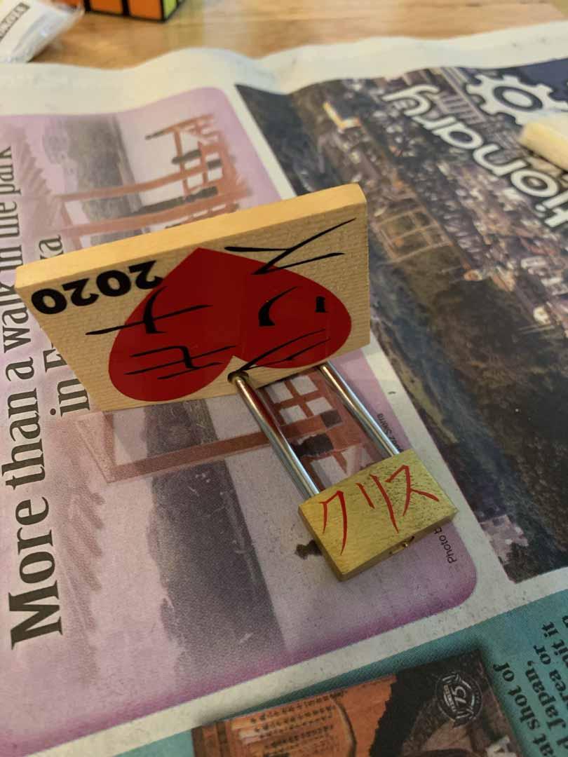Mona Falcon - Love Lock project