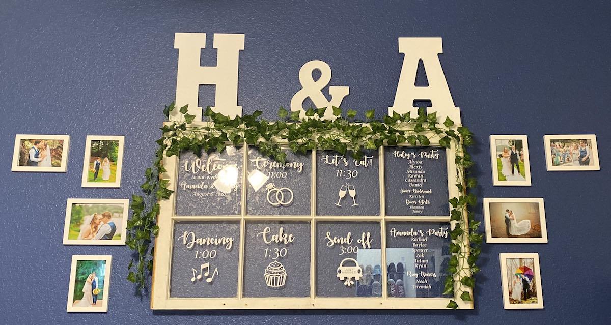 Haley McDermott - Wedding Frame