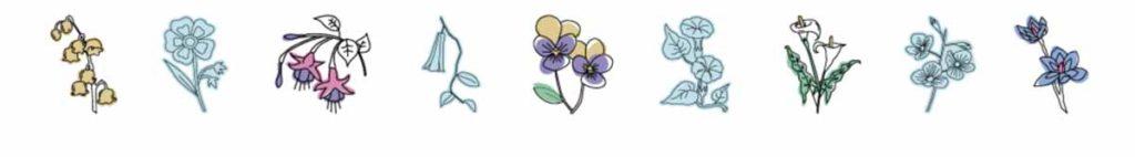 Cricut Access image set: Flowers in Bloom
