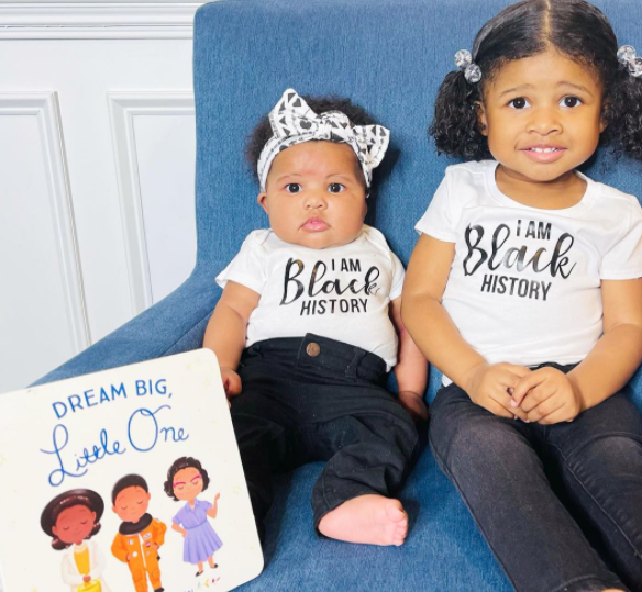 I Am Black History shirts for sisters by @_truetoher