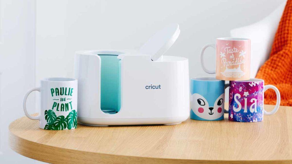 Cricut Mug Press and mugs