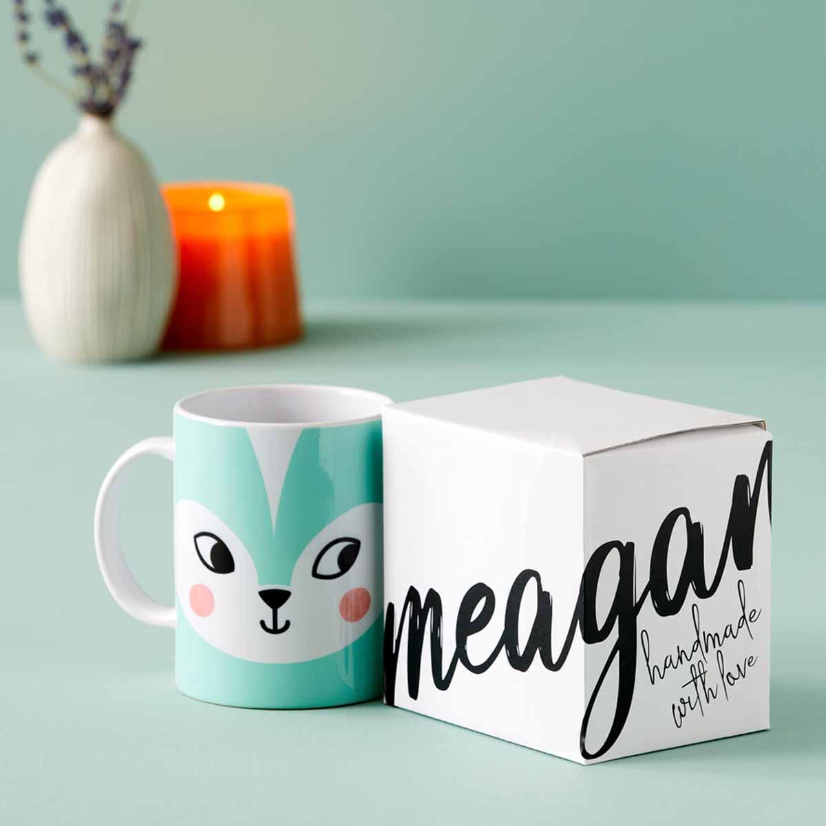 DIY mug and gift box with Cricut