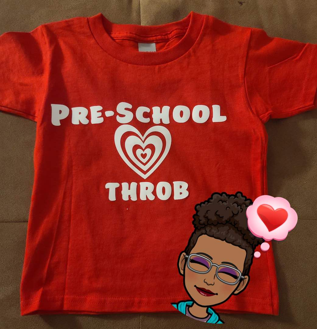 Melissa Barr: Pre-school heart throb T-shirt