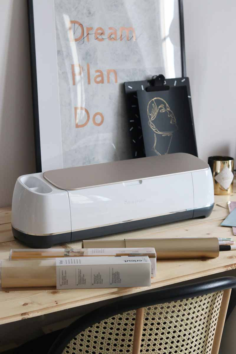 Laure Coulombel and her Cricut Maker