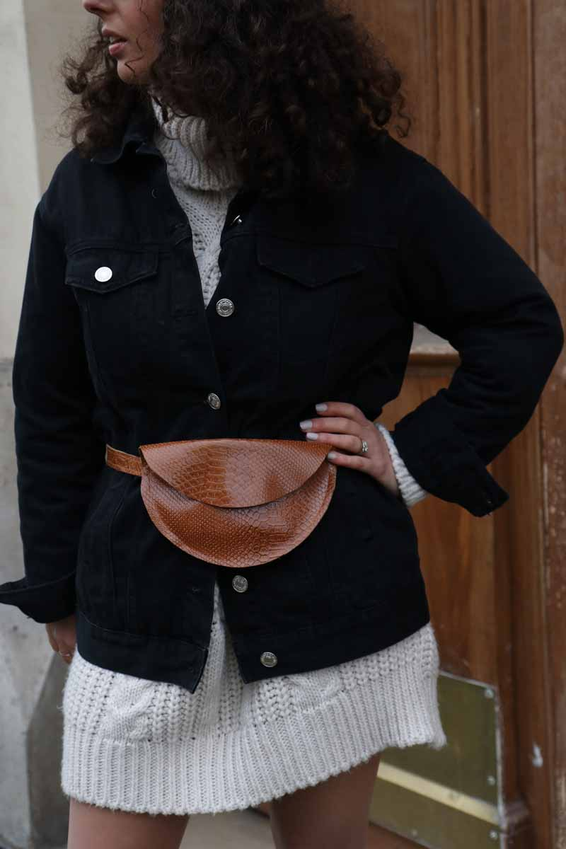 Laure Coulombel - leather purse