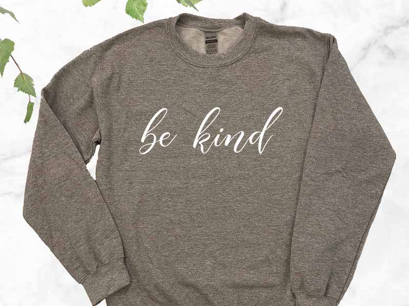 Birch and Bramble - Be Kind Sweatshirt