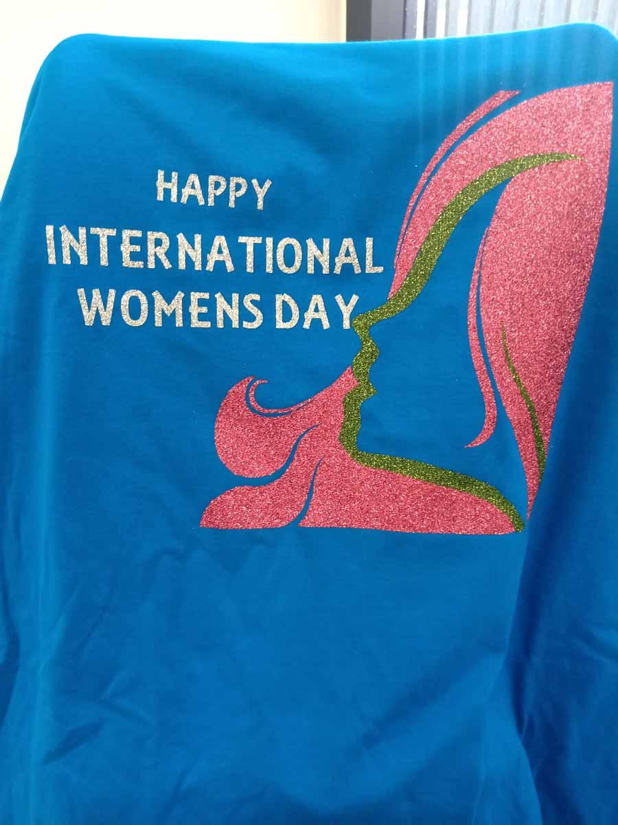 Huda Roslan - Happy International Womens Day shirt