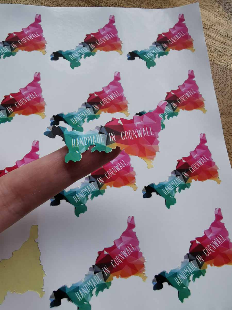 Lisa Johns - Print then Cut stickers with Cricut