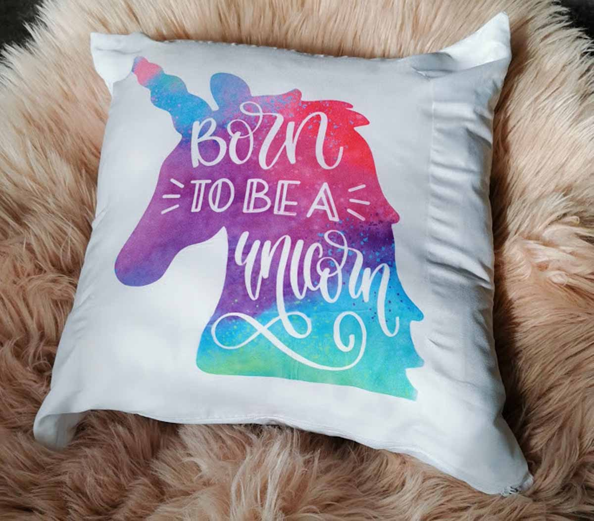 Lisa Johns - Unicorn Cushion
