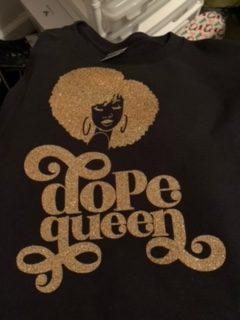 """Magalia Frazier """"Dope Queen"""" T-Shirt"""