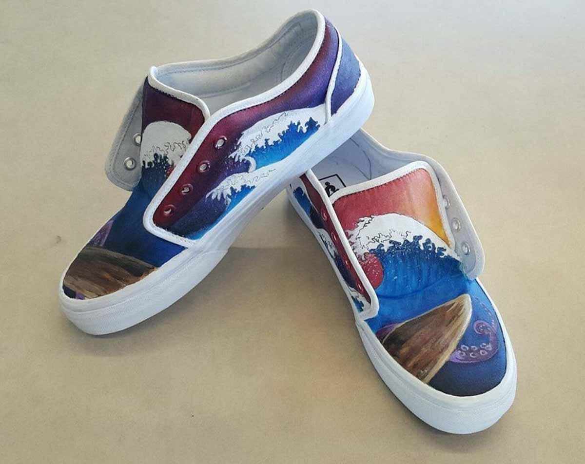Lam Pham shoe artwork
