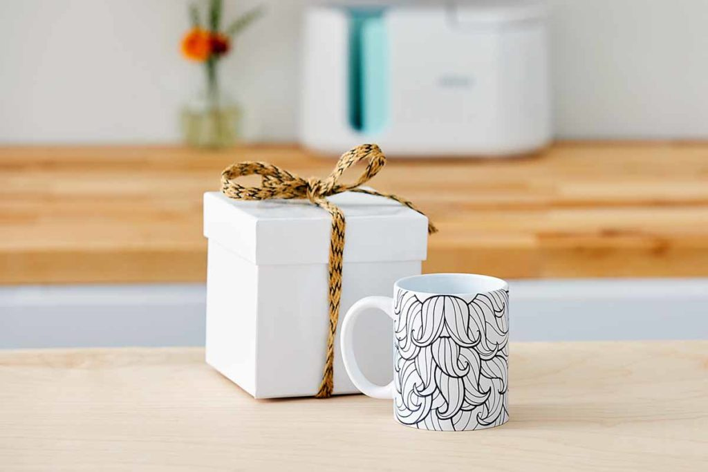 Cricut Mug Press - finished mug