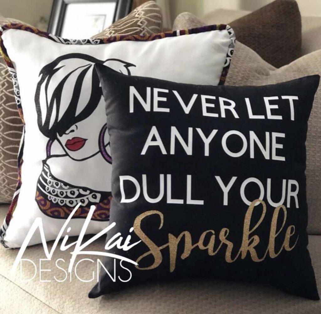 Karen Baxter - pillows