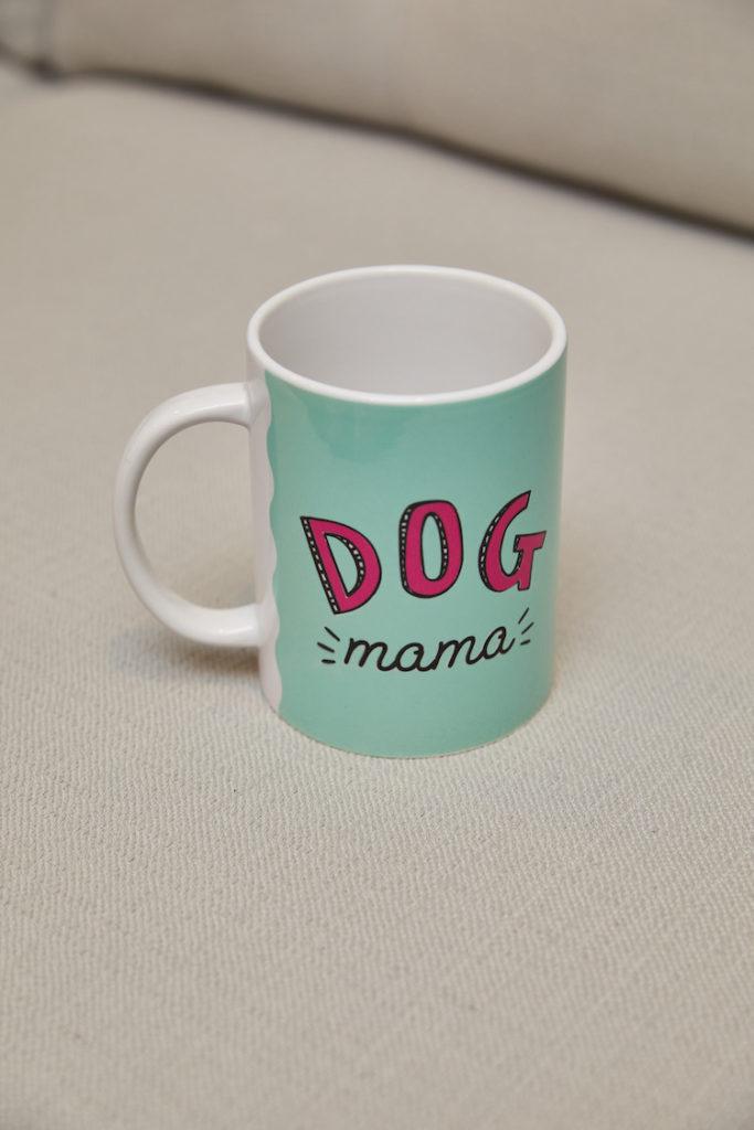 """Dog mama"" mug"