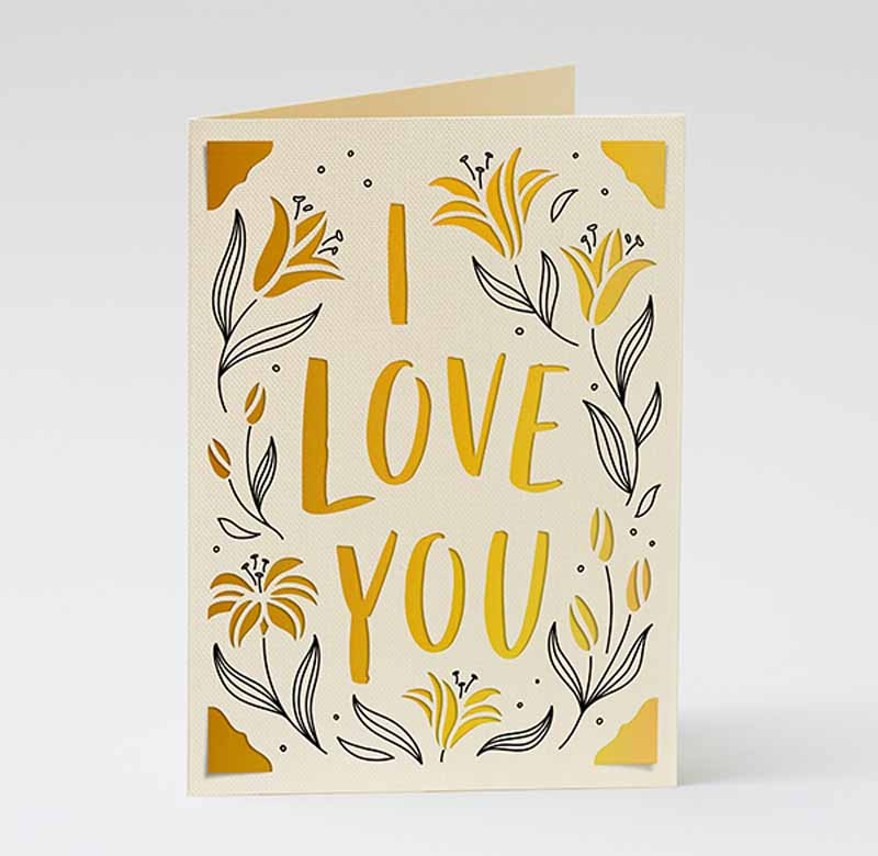 """Mother's Day """"I love you"""" cards - AU (Lily)"""