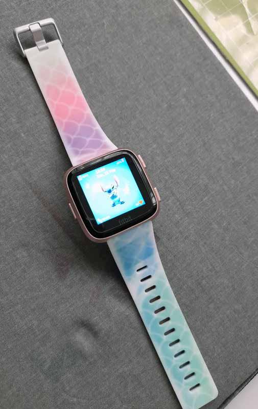 Amy Earnshaw - Infusible Ink scrap watch band