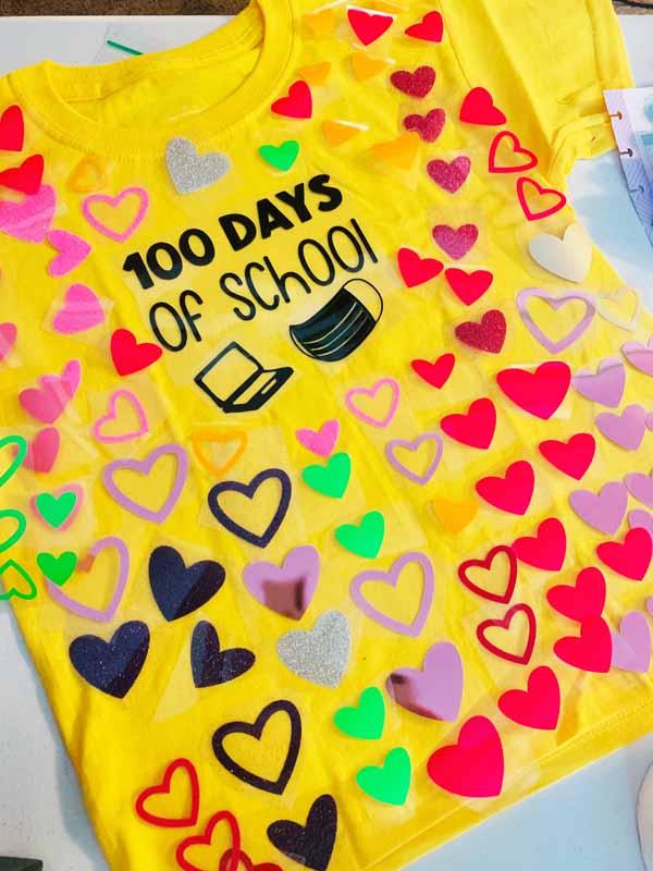 Monique Robertson - 100days scraps shirt