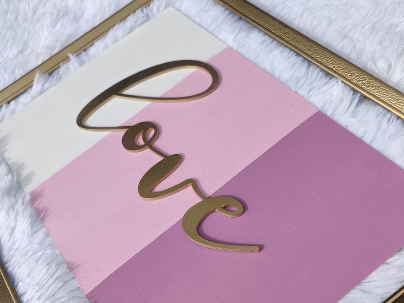 Kecia Pierre - Love sign home decor