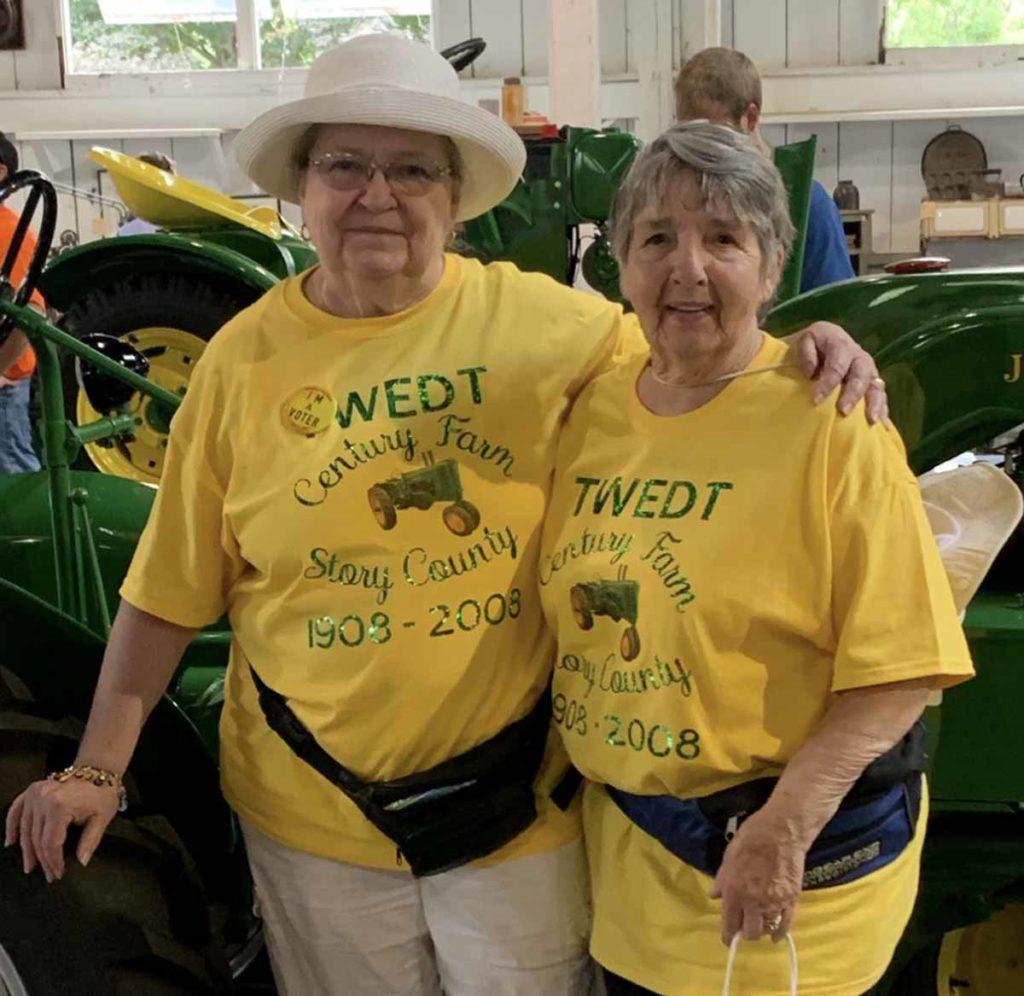 Jill and Sandy June