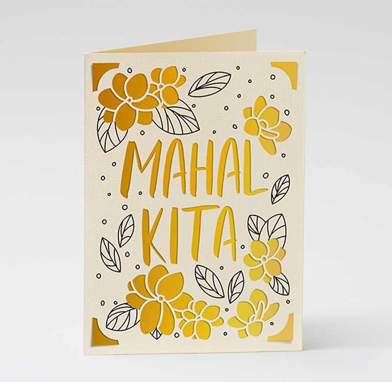 """Mother's Day """"I love you"""" cards - Tagalog"""