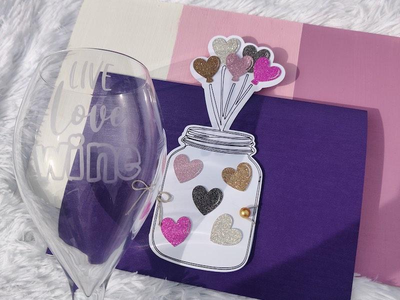 Kecia Pierre - Wine glass and event keepsake