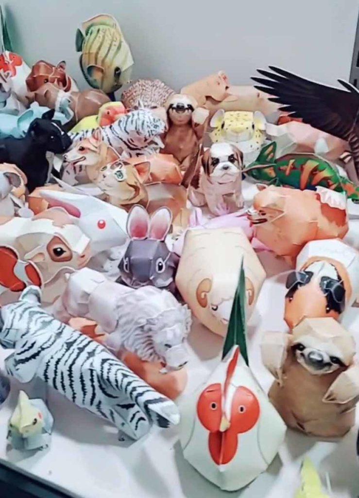 Rhonda Atkins - Paper Animals