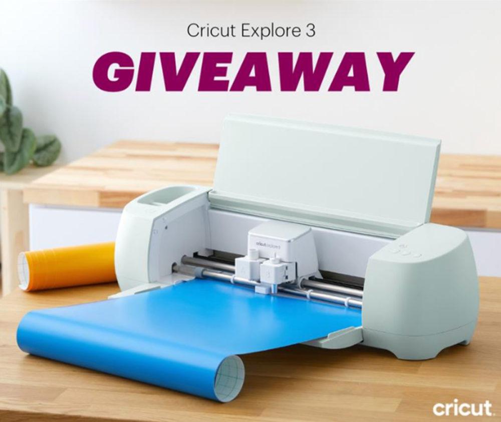 Cricut Explore 3 Giveaway