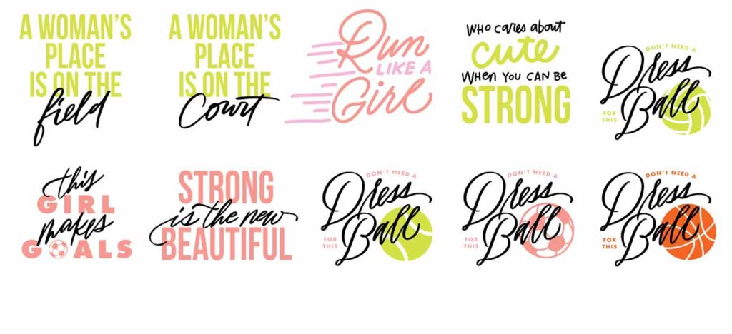 Erin Wilson - Girls Sports Image Set