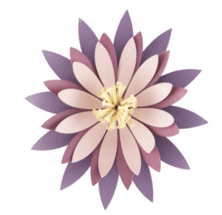 Cactus paper flower