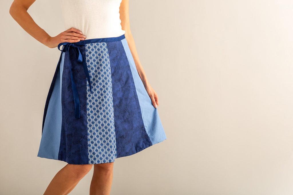Skirt Made with Cricut Maker
